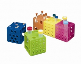 Polypropylene Interlocking Cube Racks
