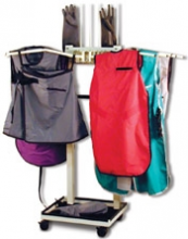 Standard Mobile Radiation Apron Rack