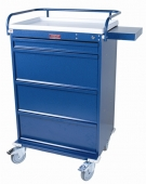 Value Line 360 Capacity Punch Card Medication Cart with Key Lock