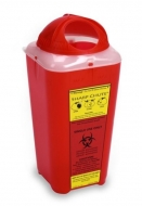Sharps Chute Disposable Sharps Container with Rotating Dome