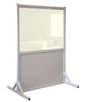 Wide Mobile Lead Barrier Clear Window