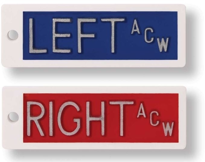 Left and Right Lead Markers