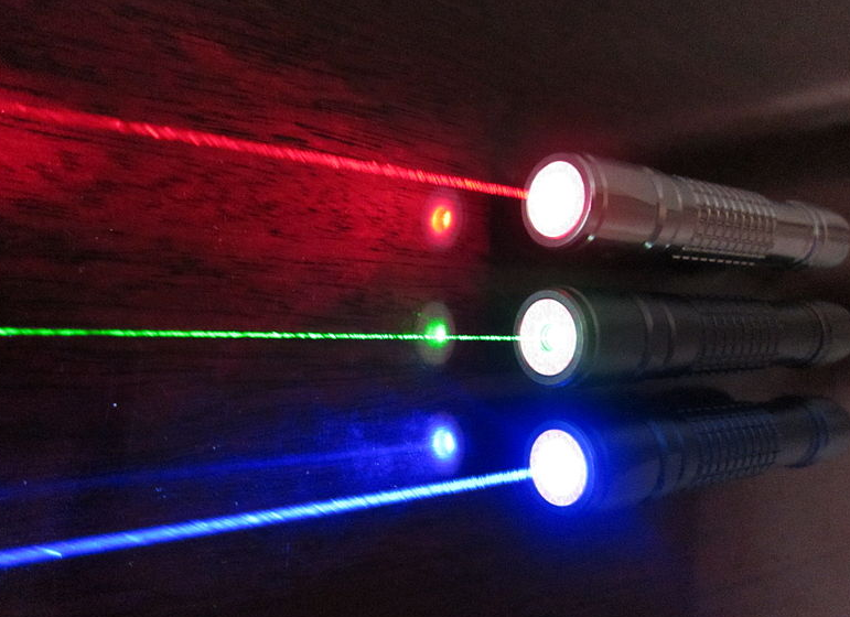 red-green-blue-lasers