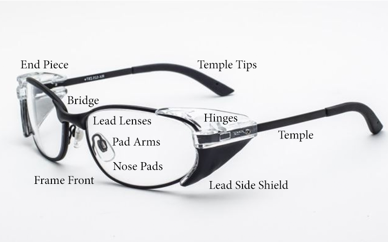 What Are The Parts Of A Lead Eyeglass Frame? - Universal Medical Blog